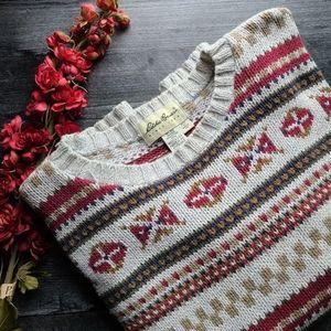 Vintage Grandpa sweater chunky